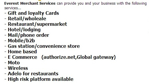 Everest Merchant Services