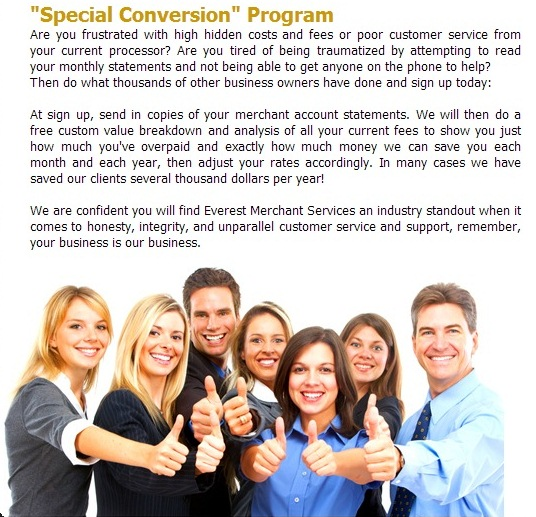 Special Conversion Program